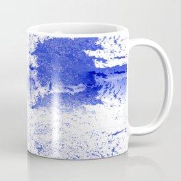 Deep Ocean Blue with White Caps Coffee Mug