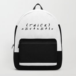 Thick Aesthetic Backpack