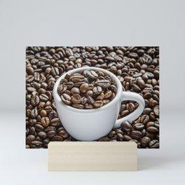 Coffee Beans Mini Art Print