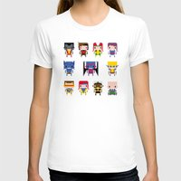 x men T-shirts featuring Pixel X-Men by PixelPower