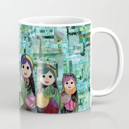 Matryoshka Nesting Dolls Coffee Mug