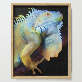 Iguana Serving Tray