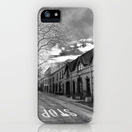 STOP For Brooklyn Heights Brownstone Love NYC iPhone Case