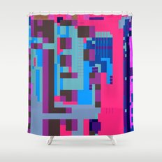 tcanvasmosh45 Shower Curtain