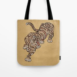 Tiger in Asian Style Tote Bag