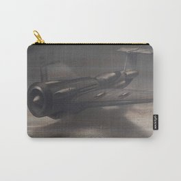 Old airplane 3 Carry-All Pouch