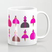 kandinsky Mugs featuring fashion show by Ioana Luscov