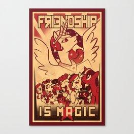 Friendship is Magic Canvas Print