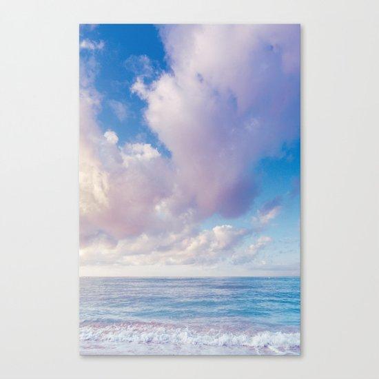 beach ver.pink Canvas Print