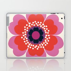 Lightweight - 70s retro throwback floral flower art print minimalist trendy 1970s style Laptop & iPad Skin