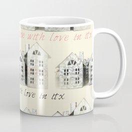 Tin Plate Houses Coffee Mug