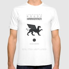 HOUSE HARKONNEN Mens Fitted Tee White SMALL