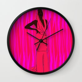 Do It With Grace Wall Clock