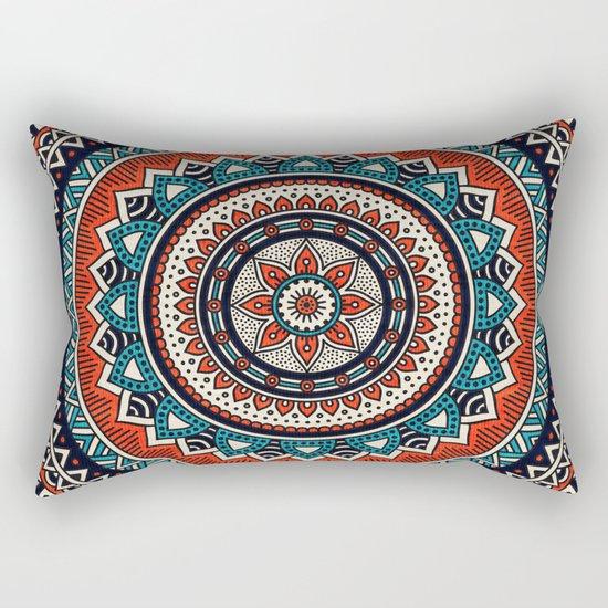 Hippie Mandala 8 Rectangular Pillow