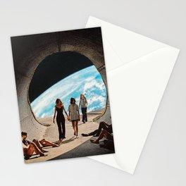 'Scifi Kids' Stationery Cards