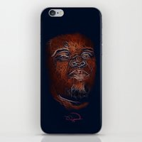 mike wrobel iPhone & iPod Skins featuring Mike Brown  by Tazmatic