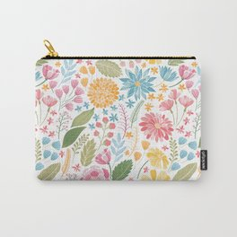 Such Pretty Summer Flowers Carry-All Pouch