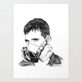 SPEAK NO EVIL Art Print