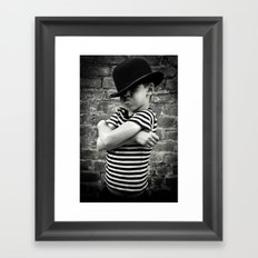 Juvenile Jazz 4 Framed Art Print