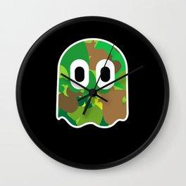 Camo Blinky Wall Clock