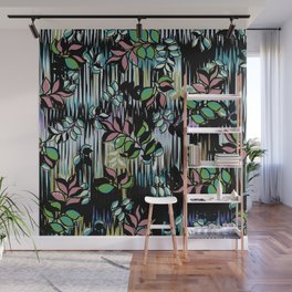 High Definition Leaves Wall Mural