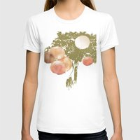 lanterns T-shirts featuring Lanterns Rosy by Heidi Fairwood