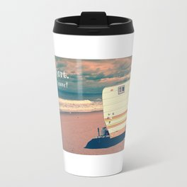 Life is short Buy the Beach House Travel Mug