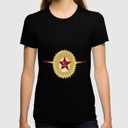 Soviet Officer Cap Badge T-shirt