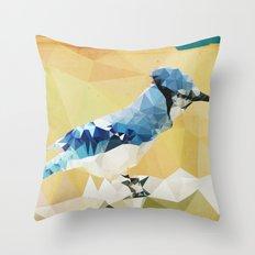 Arctic Bird! Throw Pillow