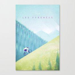 Pyrenees Canvas Print
