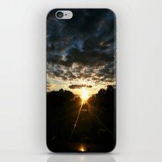 morning drive iPhone & iPod Skin