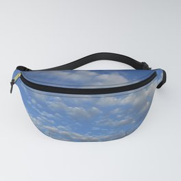 Cloudy sky Fanny Pack