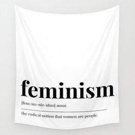 Feminism Wall Tapestry