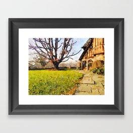 """Big Bare Tree"" Framed Art Print"