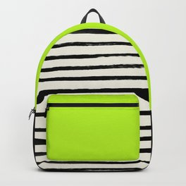 Electric Pineapple x Stripes Backpack