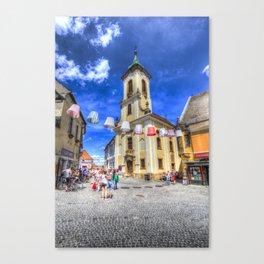 Szentendre Town Hungary Canvas Print