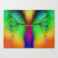 Butterfly... You My Friend, Are A Victim Of Disorganised Thinking... Canvas Print