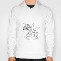snail Hoodies featuring Snail. by sonigque