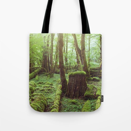 Mossy Forest Tote Bag