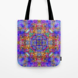 Spectral Threads Tote Bag