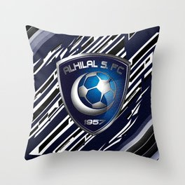 Al-Hilal FC Throw Pillow