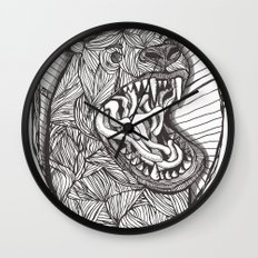 grizzly Wall Clock