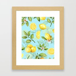 Vintage & Shabby Chic - Lemonade Framed Art Print
