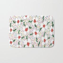 Classic Floral Pattern Bath Mat