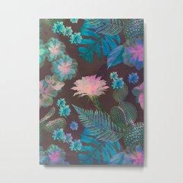 Exotic Gloomy Garden Metal Print