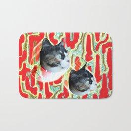 Cuca the Cat Bath Mat