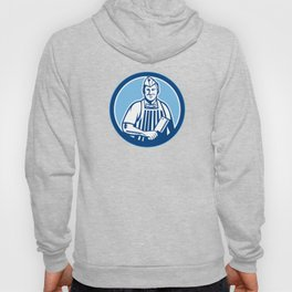 Butcher Meat Cleaver Knife Circle Hoody