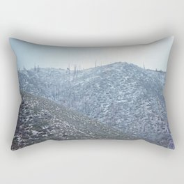 Cold Mountain (Angeles National Forest) Rectangular Pillow