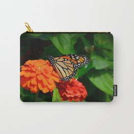 Monarch and the Mum by Teresa Thompson Carry-All Pouch