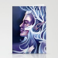thranduil Stationery Cards featuring Thranduil by MelColley